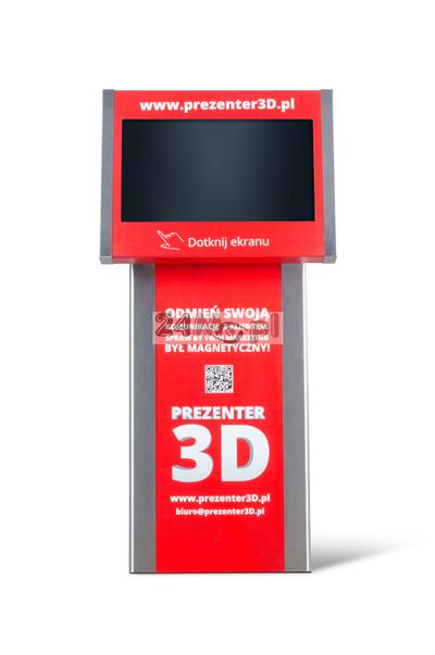 KIOSK_GOLD1 Kiosk multimedialny [totem] z prezentacjami 3D - made in Poland!